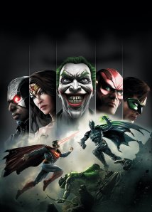 injustice-gods-among-us cover