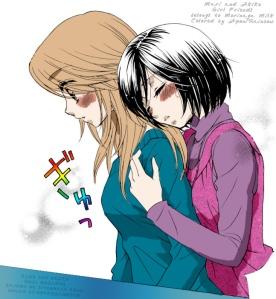 Mari and Akko