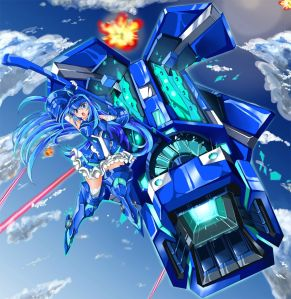 Vivid Blue, my fav fusion