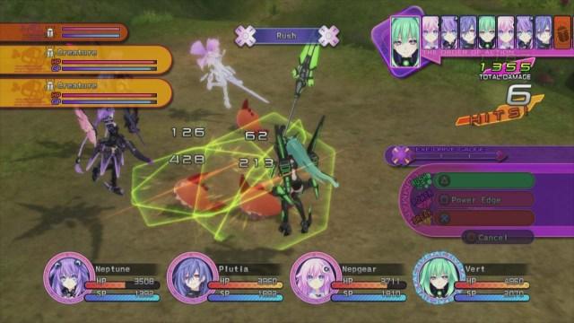 Neptunia Victory gameplay