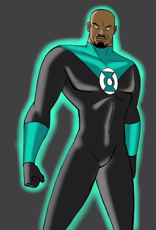 Green_Lantern John Stewart