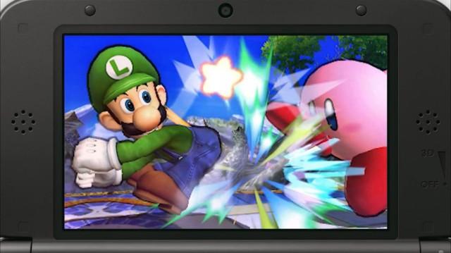 Luigi Smash Bros 3DS 2