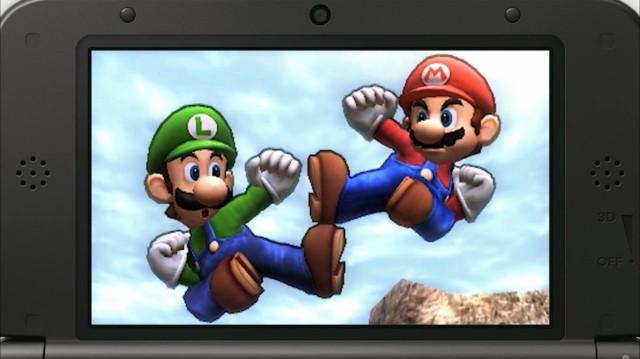 Luigi Smash Bros 3DS