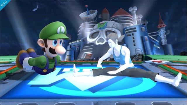 Luigi Smash Bros Wii U 2