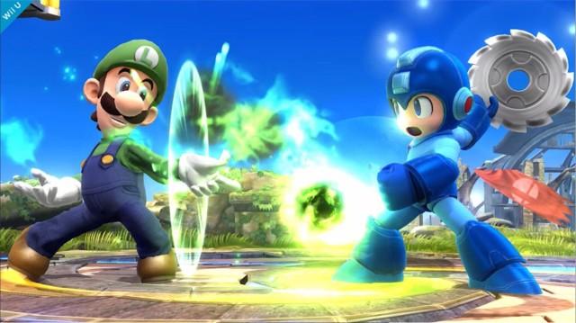Luigi Smash Bros Wii U