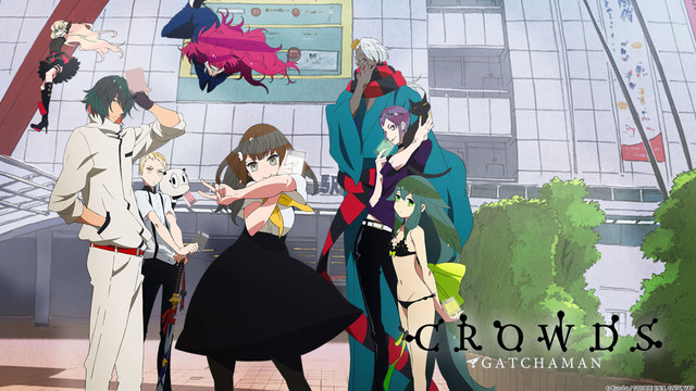 Gatchaman Crowds Cover 2