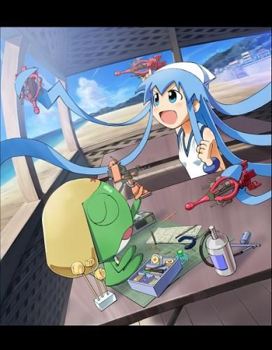 Sgt Frog X Ika Musume