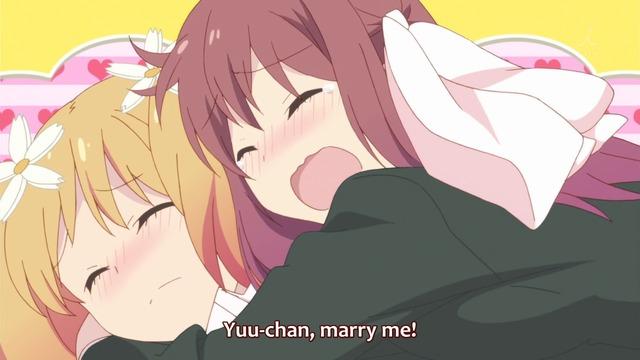 Haruka proposing to Yuu