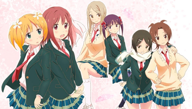 Sakura Trick Main Cast