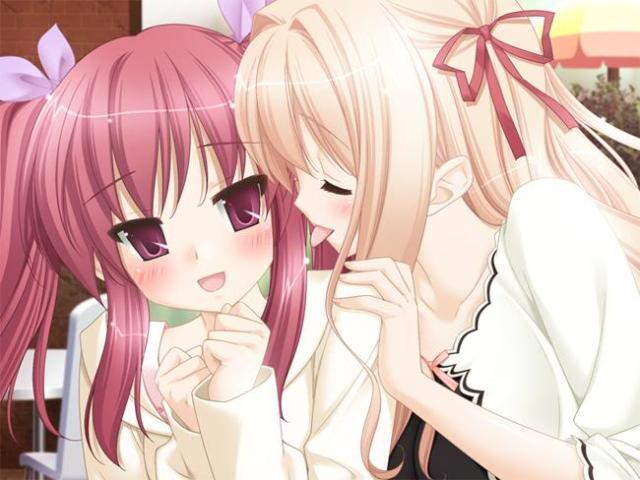 Yuuna and Nanami on a date