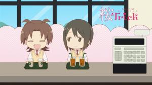 Chibi Yuzu and Kaede are the best!