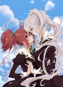 Nagisa and Shizuma Strawberry Panic