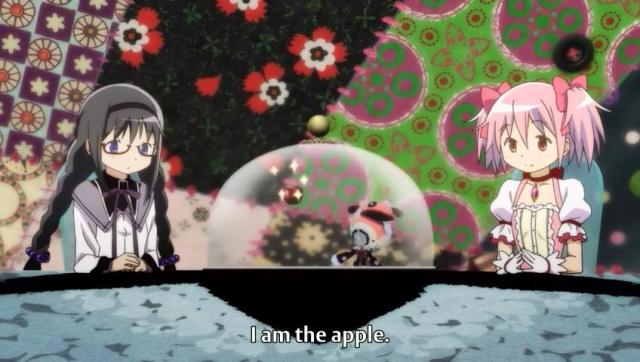 I am the apple