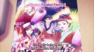 Hanairo Yosakoi Festival Poster