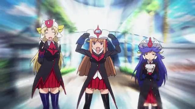 Robot Girls Z main trio