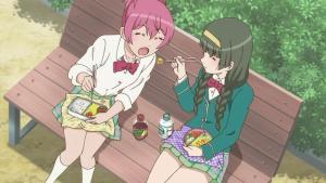 Momoka's -nice girl- routine