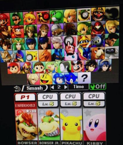 Final Smash Bros Roster
