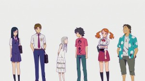 Ano Hana main cast