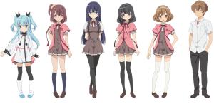 Sora no Method main cast