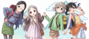 yama no susume main cast