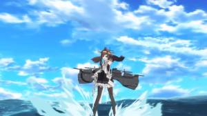 Example of KanColle CG