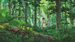 Anna and Marnie in a forest