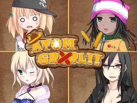 Atom GRRRLL!! Cover