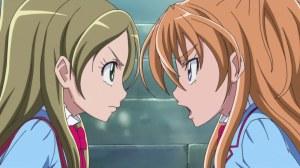 Hibiki and Kanade arguing
