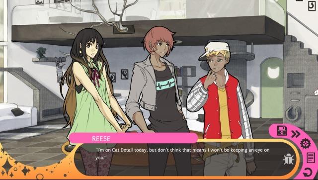 Hustle Cat gameplay screen