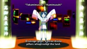 Takumi chanting again