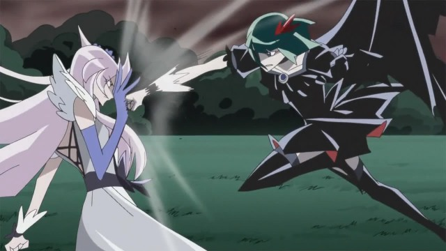 Cure Moonlight vs Dark Cure