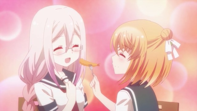 Hanako feeding Botan