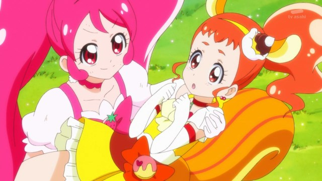 Cure Whip catches Cure Custard.jpg