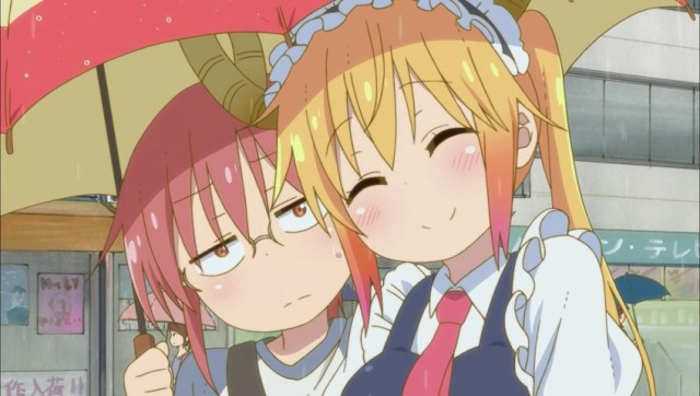 tohru-and-kobayashi-under-an-umbrella