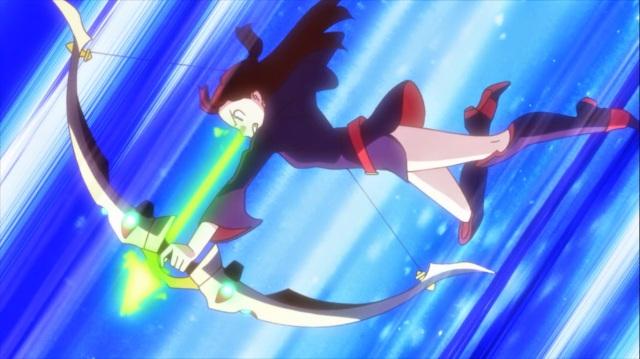 Akko firing a magic arrow.jpg