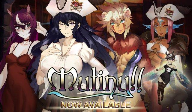 Mutiny Promotional Page