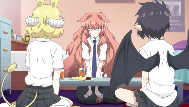 Hime embarrassed