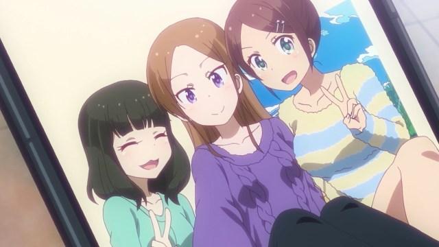 High School Hajime, Akki and a third friend.jpg