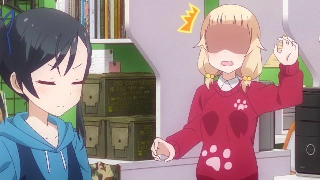 Tsubame showing Nene some tough love.jpg