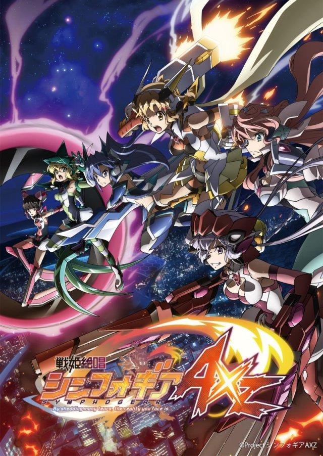 Senki Zesshou Symphogear AXZ Poster