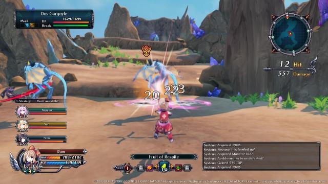 cyberdimension-neptunia-4-goddesses-online-gameplay