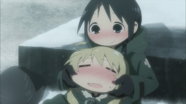 Drunk Chito playing with Yuuri