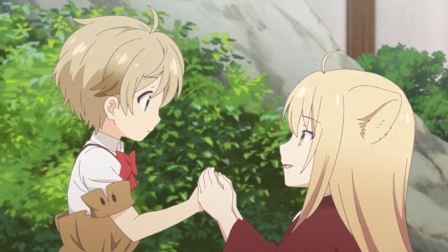 Yuzu scolding a naughty boy