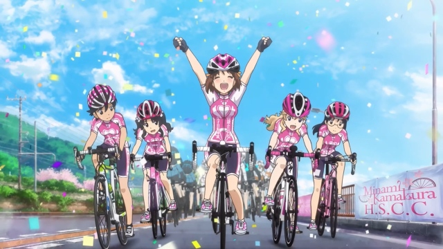 Minami Kamakura High School Girls Cycling Club Leads