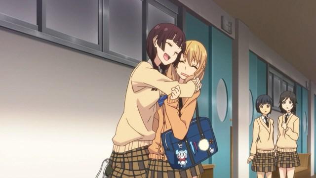 Harumin welcoming Yuzu back.jpg