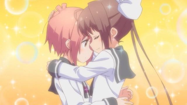 Tama comforting Hana