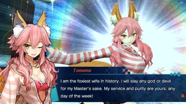 Tamamo's alternate costume and character art change.jpg