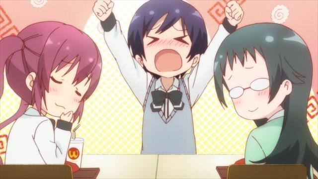 Yuu throwing a tantrum