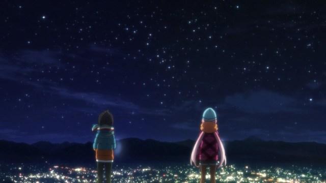 Nadeshiko and Rin seeing the city at night.jpg