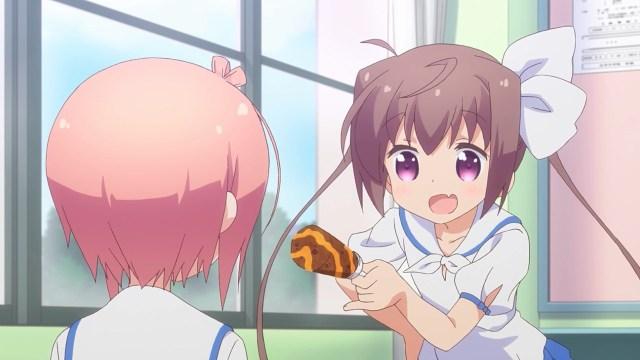 Tama treating Hana ice cream